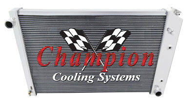 1982 1983 1984 1985 1986 1987 1988 1989-92 Firebird T//A 2 Row WR Radiator