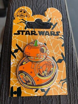 Official Disney Star Wars BB8 Droid Halloween Pumpkin Pin