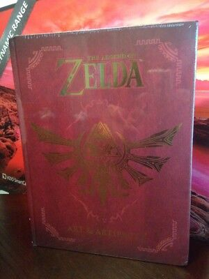 The Legend of Zelda: Art and Artifacts Book by Nintendo (2017, Hardcover) *NEW*