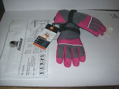 B NWT HEAD Girl/'s Warmth DuPont  Gloves Long lined insulated Ski// Snowboard