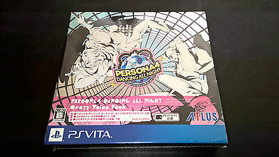 PS Vita Persona 4 Dancing All Night Crazy Value Pack Limited W/ First Press DLC