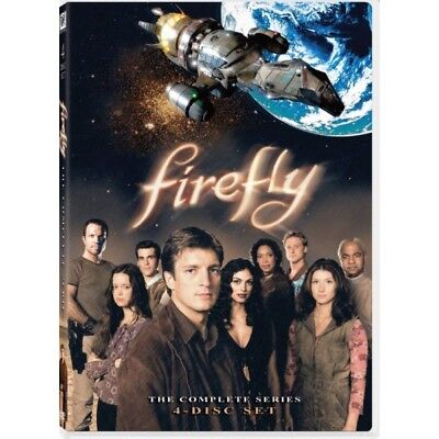Firefly: The Complete Series [DVD Box Set Joss Whedon Sci-Fi 4 DISC TV Series]
