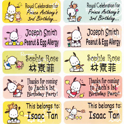 40 POCHACCO Waterproof Name Labels-SCHOOL,DAYCARE(Buy 5 get 1 FREE)