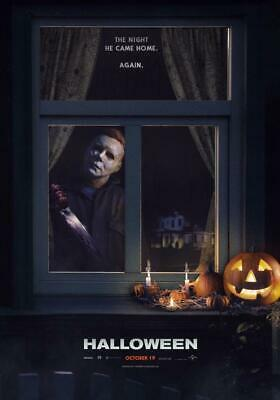 Halloween 2018 Movie Poster - Michael Myers - NEW - 11x17 13x19