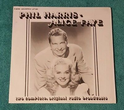 Phil Harris, Alice Faye ‎– Two Complete, Original Radio Broadcasts