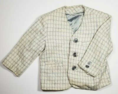 Vintage Acecraft Boys Suit Blazer Lined