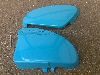 Honda C70 Passport 82-84 plastic combo BLUE tool battery side covers PLS READ!