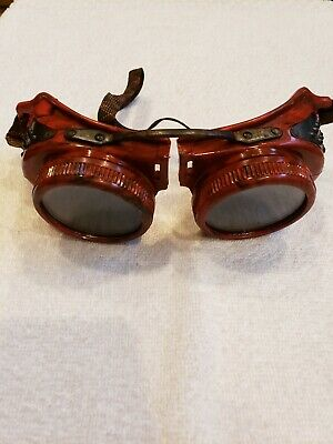 Vintage Jackson Welding/Safety Goggles Steam Punk Style cosplay