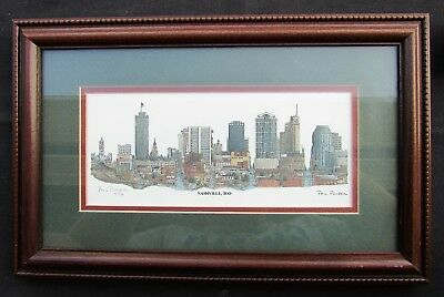 signed /& numbered Murfreesboro, TN Rutherford County Courthouse by Phil Ponder