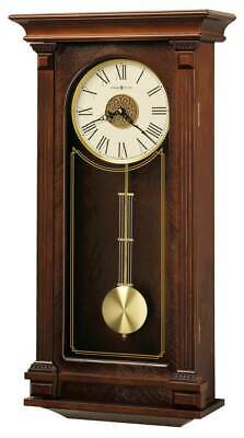 Sinclair Wall Clock in Cherry Bordeaux Finish [ID 3820082]