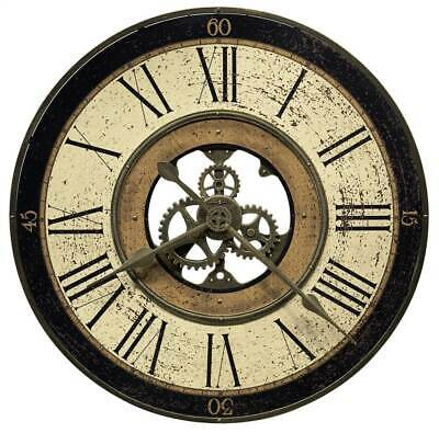 Brass Works Wall Clock in Antique Brass Finish [ID 3820088]