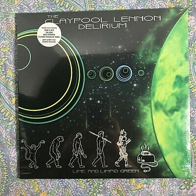 LIME AND LIMPID GREEN by THE CLAYPOOL LENNON DELIRIUM  OOP SPLATTER [EP]