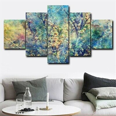 Flower Tree Branch Large Modern Wall Art Canvas Painting Oil Picture Home Decor