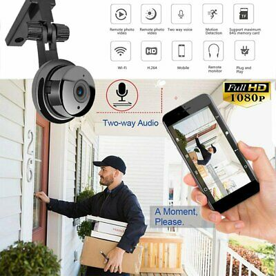 Mini Spy Camera Wireless Wifi IP Home Baby Pet Security 1080P DVR Night Vision