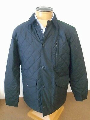 Filson 100 Cotton Quilted Mile Marker Jacket Navy Nwt Small