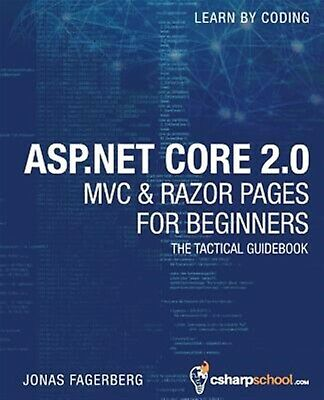 ASPNET Core 20 MVC & Razor Pages for Beginners How Build  by Fagerberg Jonas
