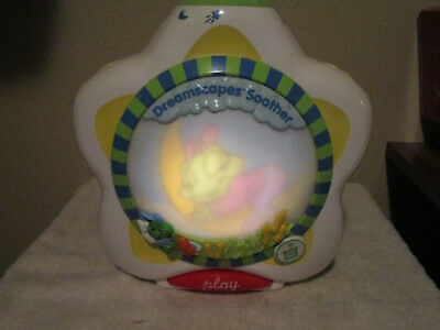 CRIB SOOTHER LeapFrog Dreamscapes Scrolling Screen Poems NIGHT LIGHT LEAP FROG !