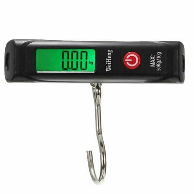 Portable Electronic Fishing Digital Hanging Luggage Weight Hook Scale 50Kg/10g
