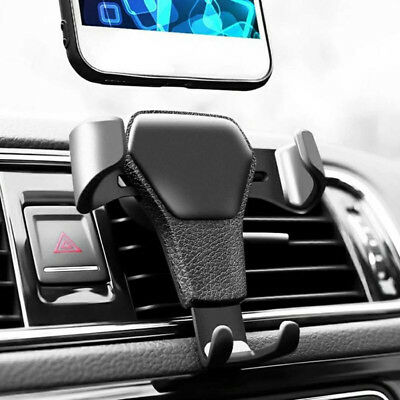 Gravity Car Air Vent Mount Cradle Holder Stand For Mobile Cell Phone iPhone GPS