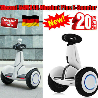 """Xiaomi N4M340 Ninebot Plus Electric 11"""" 2wheel Self Scooter E-Scooter Remote DE"""