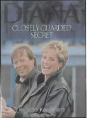 """VERY GOOD"" Diana: Closely Guarded Secret (Diana Princess of Wales), Jobson, Rob"