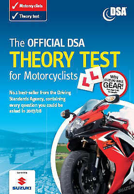 """""""VERY GOOD"""" The Official DSA Theory Test for Motorcyclists 2007 Edition: Valid f"""