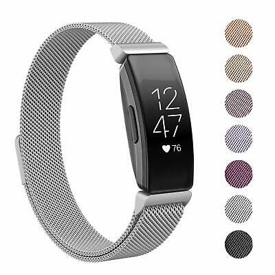 Fitbit Inspire/Inspire HR Milanese Stainless Steel Magnetic Replacement Band