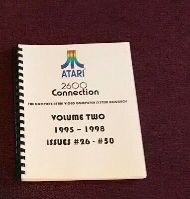 2600 Connection book - volume two - ATARI VCS print newsletters 1995-1999