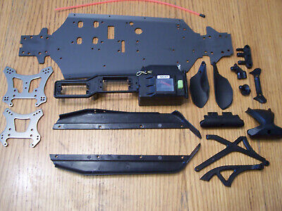 Center Front Rear Chassis Brace #11002 HOBAO Hyper 10SC RC-WillPower