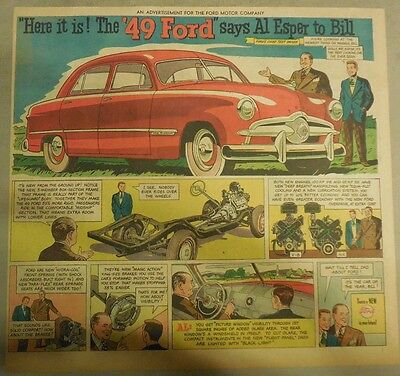 "Ford  Ad: ""Here It Is The '49 Ford""  from 1949"