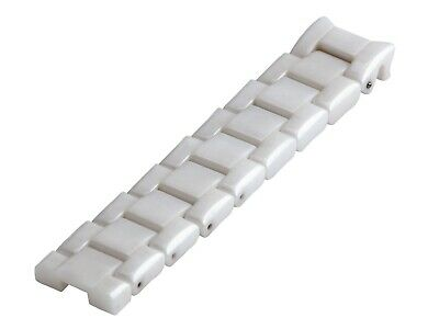 For EMPORIO ARMANI AR1403 Ceramic White Half Strap/Band/Bracelet Watch 22mm