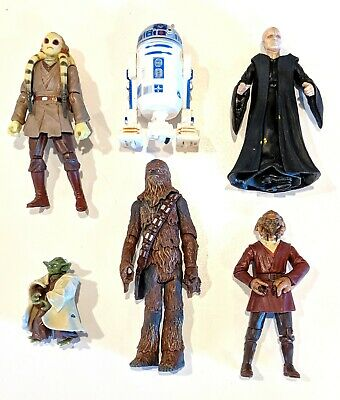 CHOOSE: 2005 Star Wars Revenge of the Sith * Action Figures * Hasbro