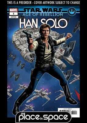(Wk18) Star Wars Age Of Rebellion - Han Solo #1E - Puzzle Var - Preorder 1St May