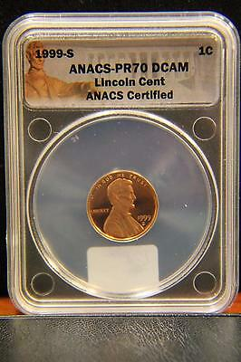 1999 s ANACS PR 70 PF Proof DCAM Lincoln Memorial Cent