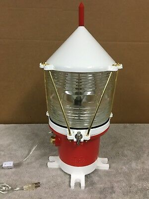 Restored United States Coast Guard Buoy Light Lamp USCG Maritime
