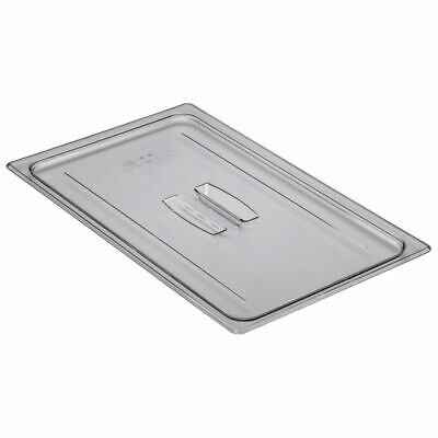 Cambro 10CWCH135 Camwear Clear Full-Size Food Pan Cover with Handle