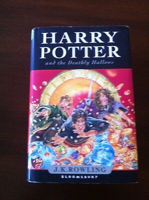 Harry Potter And The Deathly Hallows - Jkrowling - 608pags - Bloomsbury Hardback