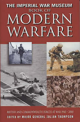 """""""VERY GOOD"""" IWM Book of Modern Warfare: British and Commonwealth Forces at: Brit"""