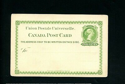 Lot 76884 Canada Ux4B Unused Postal Stationery Queen Victoria