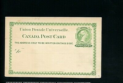 Lot 76890 Canada Ux4 Unused Postal Stationery Queen Victoria