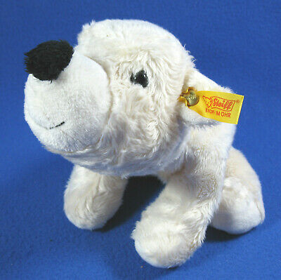 Steiff 079856 Matty dog new with ear tag and paper tag