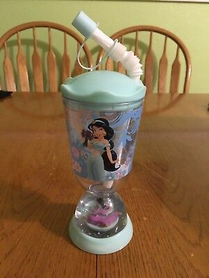 94395a8b295 REDUCED PRICE..DISNEY STORE Snow Globe Tumbler Cup Princess Jasmine