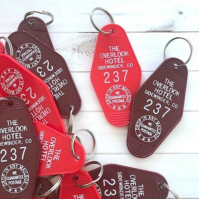 The Shining Overlook Hotel Key Tag / Keychain