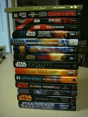 15 Star Wars HC Book hardcover books Sith Force Jedi Death Troopers Rogue One