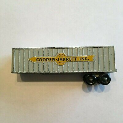 Matchbox M9 Interstate Freighter Cooper Jarrett Inc Waterslide Transfers Set Accessories, Parts & Display Diecast & Toy Vehicles