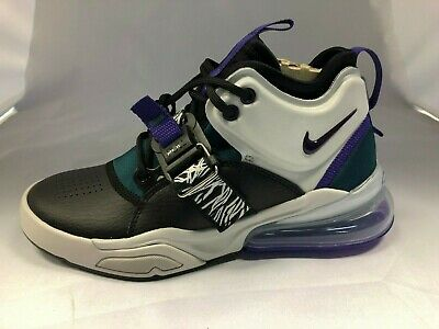NIKE AIR FORCE 270 GS Youth Shoes WhiteBlackBlueBerry