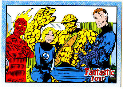 'FANTASTIC FOUR ARCHIVES  2008 Promo Card