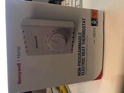 honeywell ct410b manual electric baseboard thermostat $19 95new honeywell ct410b non programmable manual electric heat baseboard thermostat