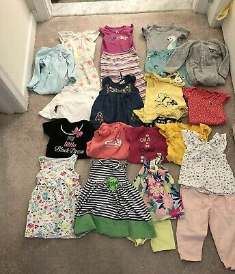 7247037fd500 MIXED LOT OF Baby/Toddler Girl Clothes Size 12 Months- Spring/Summer ...
