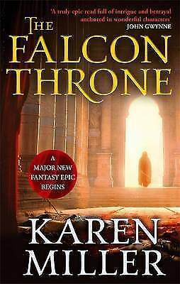 """VERY GOOD"" The Falcon Throne: Book One of the Tarnished Crown, Miller, Karen, B"